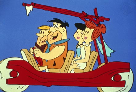 ABC had the idea, and the guts to give America its first animated prime-timer. What a yabba dabba deal!