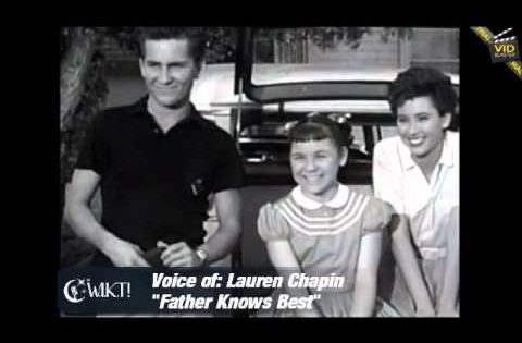"Lauren Chapin – ""Kitten"" from Father Knows Best"